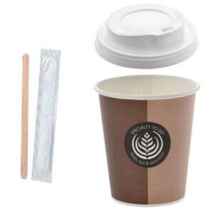 bicchiere caffe 300x300 - KIT CAFFE' ASPORTO PALETTINE IN LEGNO, BICCHIERI, COPERCHI<br> <br>N° 1000 PZ.