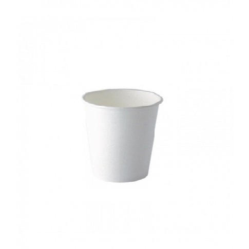 bicchiere in cartone bianco 230ml o80mm h89mm - CARTONCINO - TAZZINA <br> 120 ML. <br> <br>N° 500 PZ.