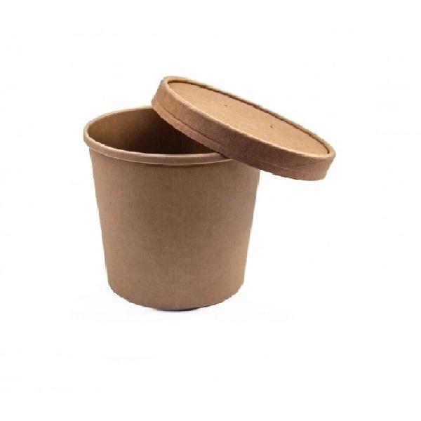 contenitori zuppa asporto 600x600 2 - CARTONCINO FSC - BARATTOLO CALDO / FREDDO 450 ML. <br> <br>N° 250 PZ.